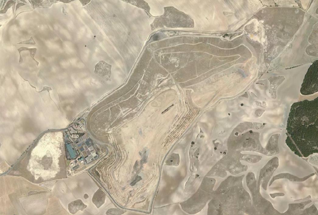 Imagen aérea de la zona