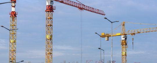 Proceso de construcción de un edificio