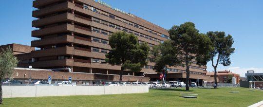 Edificio principal del Complejo Hospitalario Universitario de Albacete