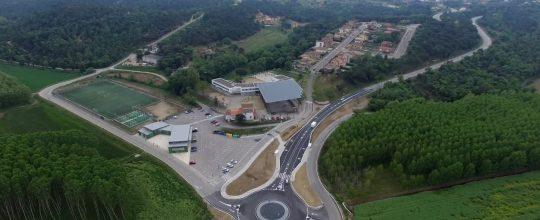 Imagen aérea captada con el dron para la supervisión de obras