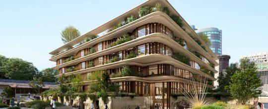 Reducción del impacto ambiental y sostenibilidad son la bandera de este edificio
