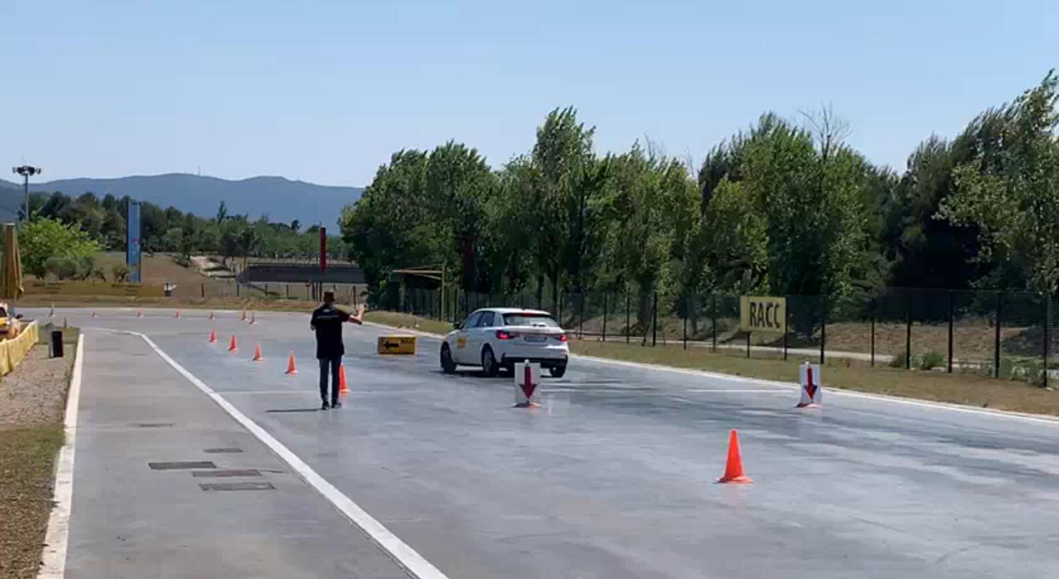 Circuito de pruebas de conducción segura